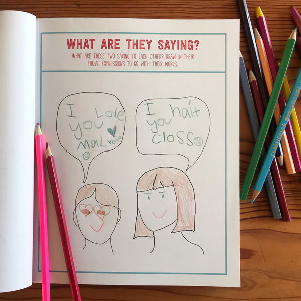 kids drawing in the book Invitation to draw by Artful Parent