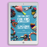 Kids jewellery making tutorial e-book