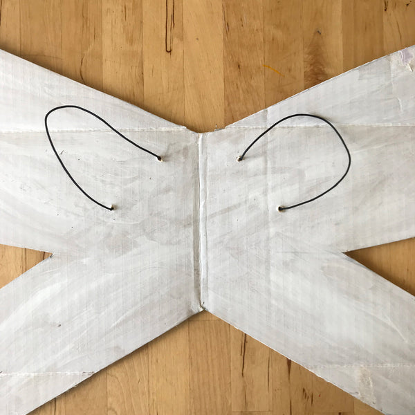 cardboard butterfly wings