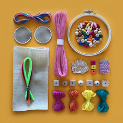 Embroidery and jewellery craft box