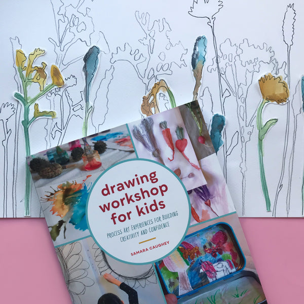 drawing workshop for kids art activity book with shadow drawings