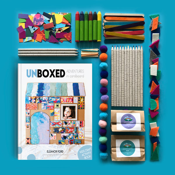 Craft book and the ultimate art supplies bundle