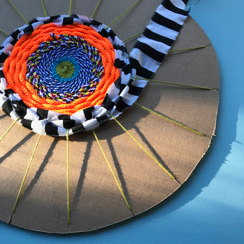 Circle weaving tutorial