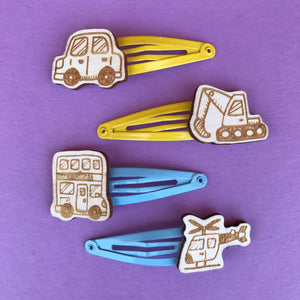 TRANSPORT hair clips