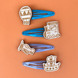 VEHICLES hair clips