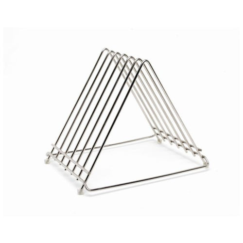Genware S/St. Wire Cutting Board Rack