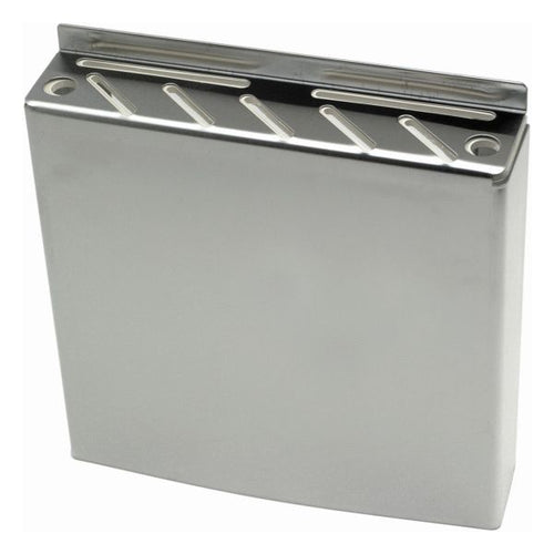 S/St. Wall Fix Knife Box  30 x 32 x 6.5cm