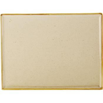 Wheat Rectangular Platter 35x25cm