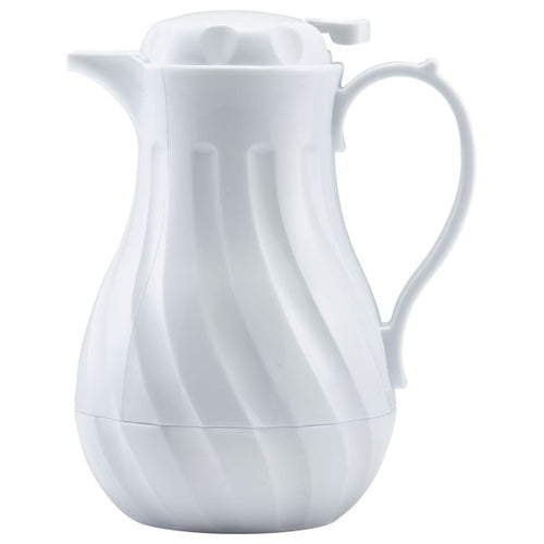 Insulated Beverage Server White 20oz 0.6Ltr