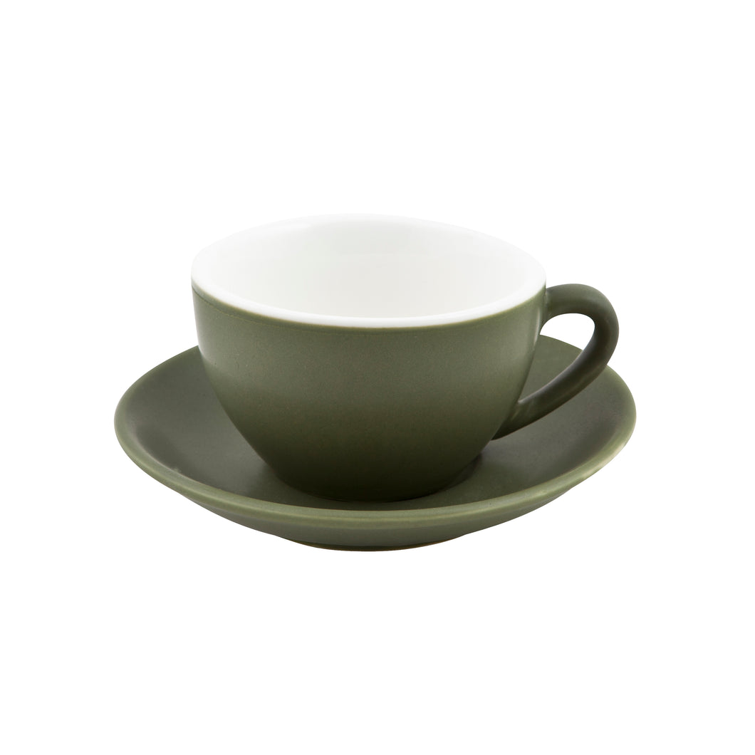 Intorno Large Cappuccino Cup 28cl Sage