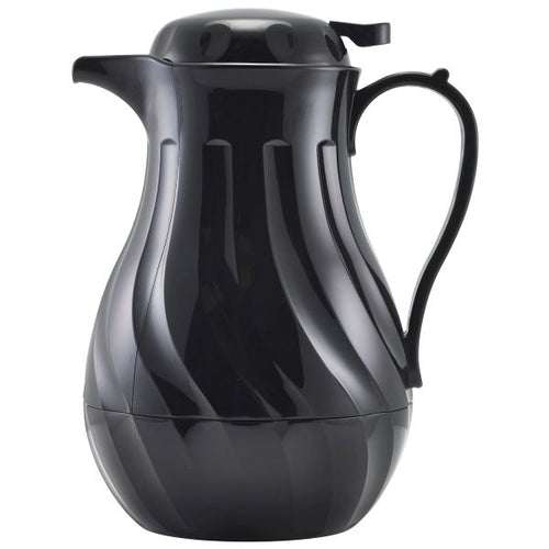 Insulated Beverage Server Black 64oz 2Ltr