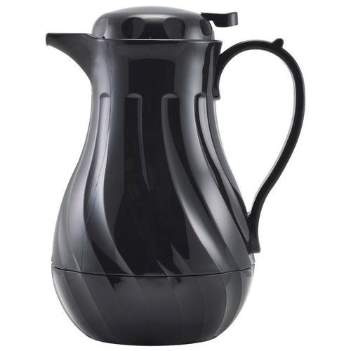 Insulated Beverage Server Black 40oz 1.2Ltr