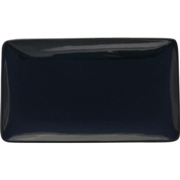 Black Rectangular Plate 28x16cm