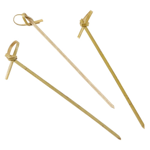 Bamboo Looped Skewers 12cm/4.75
