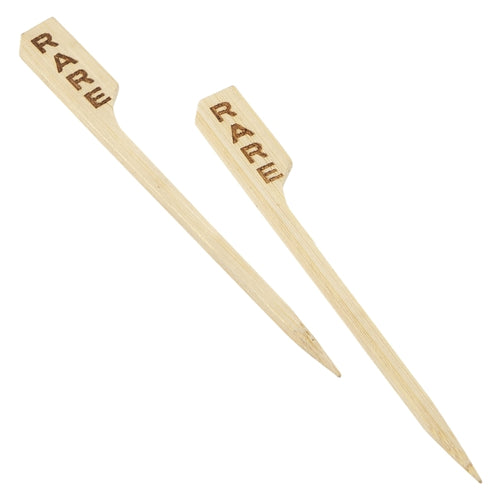Bamboo Steak Markers 9cm/3.5