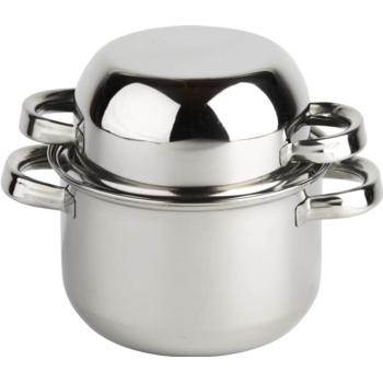 Mussel Pot with Lid 18cm/7''