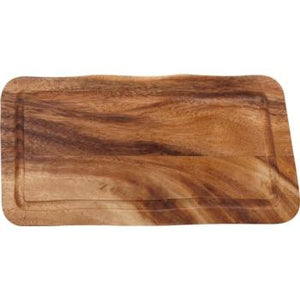 Rectangular Board with Groove Acacia 20x35x2cm