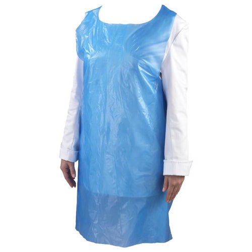 Blue Disposable Pe Apron (100 Pcs)