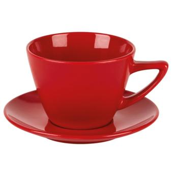 Red Conic Cup 12oz