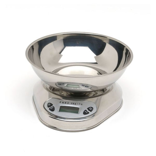 S/St. Digital Scales  5Kg Graduated 1 Gm