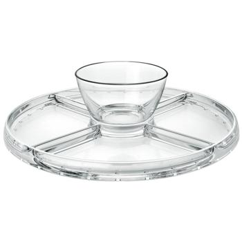 Palladio 4 in 1 Cake Stand & Dip