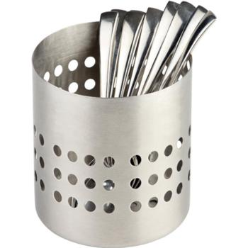 S/S Matt Finish Cutlery Basket 10cm