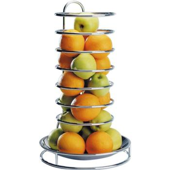 Chrome Plated Fruit/Buffet Stand with S/S Bowl