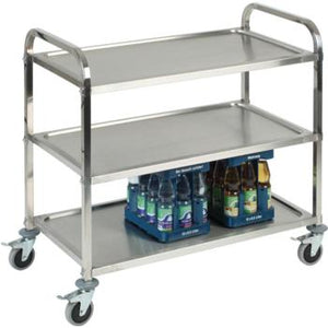 3 Tier S/S Serving Trolley