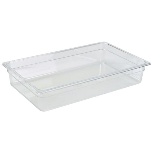 1/1 -Polycarbonate GN Pan 100mm Clear