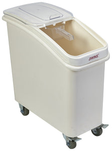 Polypropylene Mobile Ingredient Bin with Scoop 81Litre