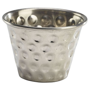 2.5oz Stainless Steel Hammered Ramekin