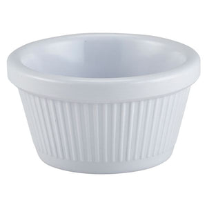 Ramekin 2oz Fluted White