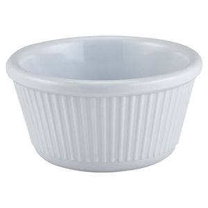 Ramekin 4oz Fluted White
