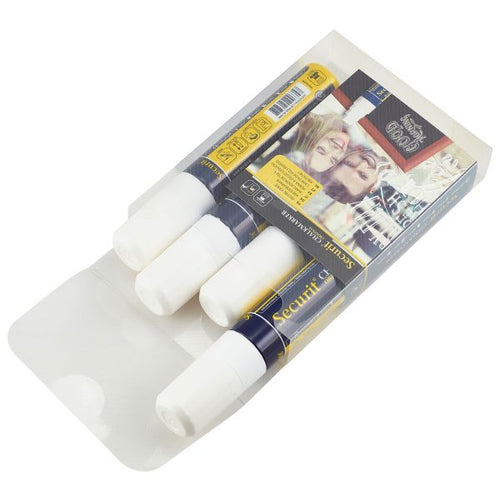 Chalkmarkers 4 Pack White Large