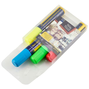 Chalkmarkers 4 Colour Pack (R,G,Y,BL) Large