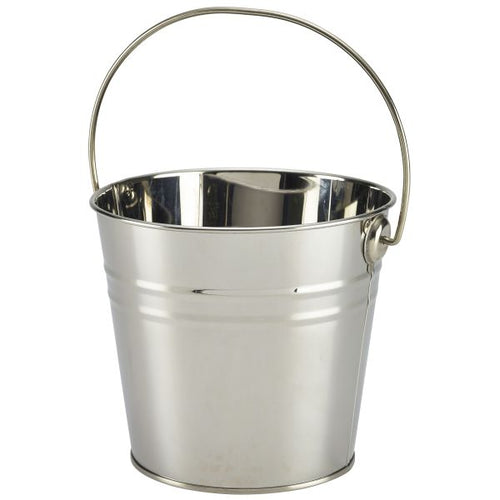 Stainless Steel Serving Bucket 16cm Dia