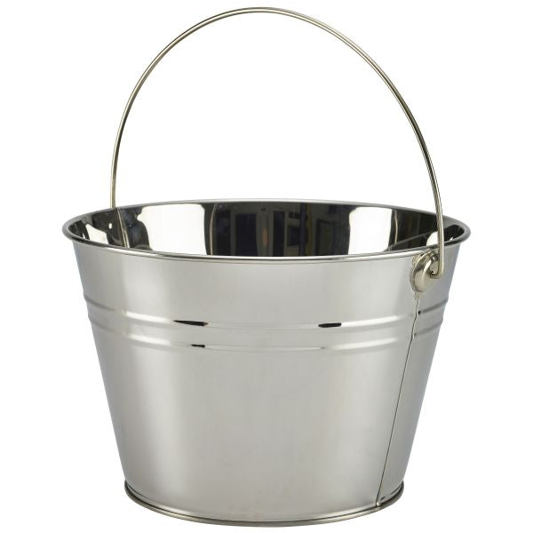 Stainless Steel Serving Bucket 25cm Dia