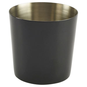 Black Stainless Steel Serving Cup 8.5 x 8.5cm
