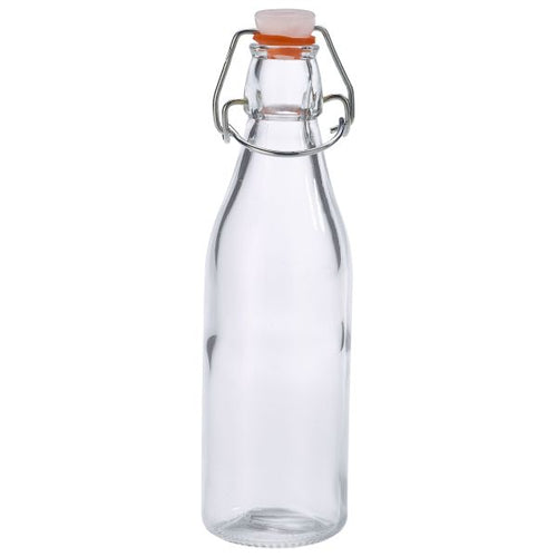 Genware Glass Swing Bottle 25cl / 9oz