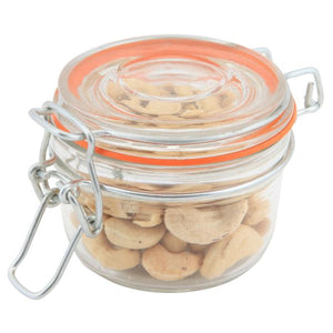 Genware Glass Terrine Jar 125ml 8.1 x 6.5cm
