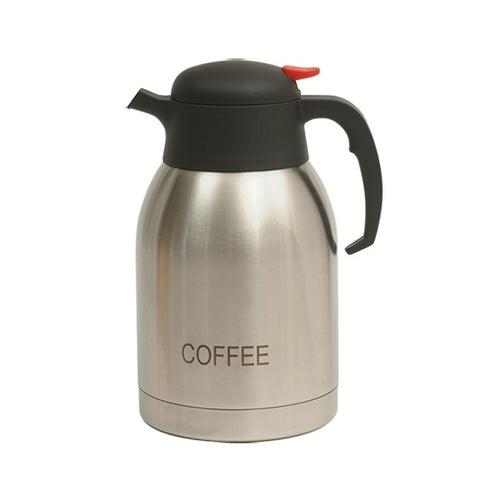 Coffee Inscribed St/St Vacuum Jug 2.0L