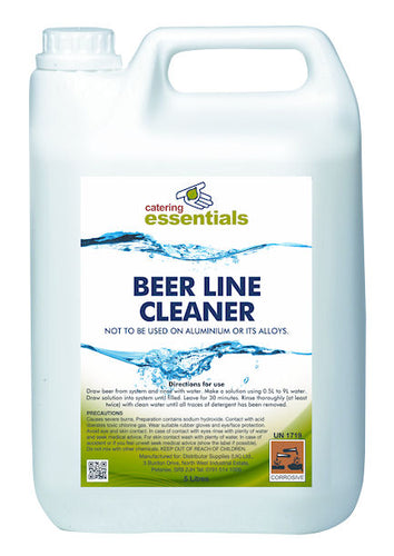 Beer Line Cleaner Clear 5 Litre