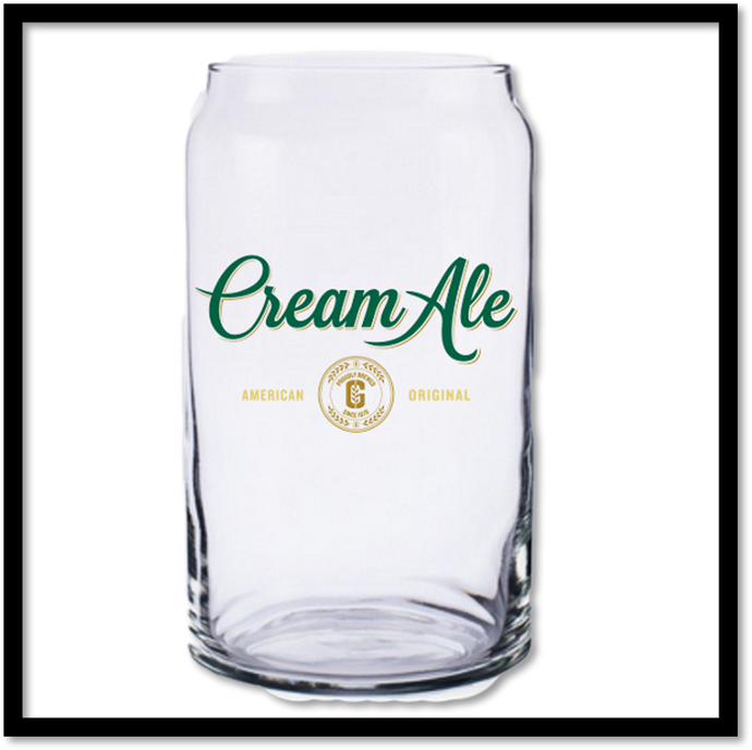 Cream Ale Glass Can Pint