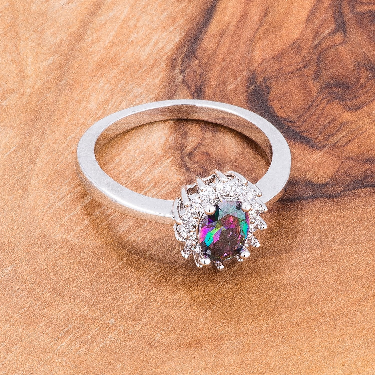 Gracie's Mystic Radiant Oval Ring