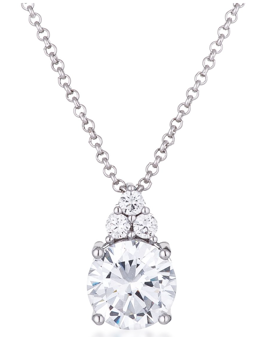 Brillant CZ Necklace