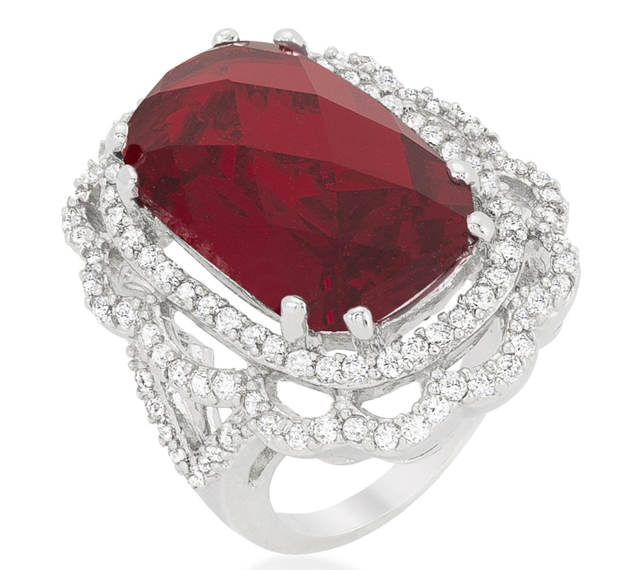 Reese's Glamour Ruby Ring