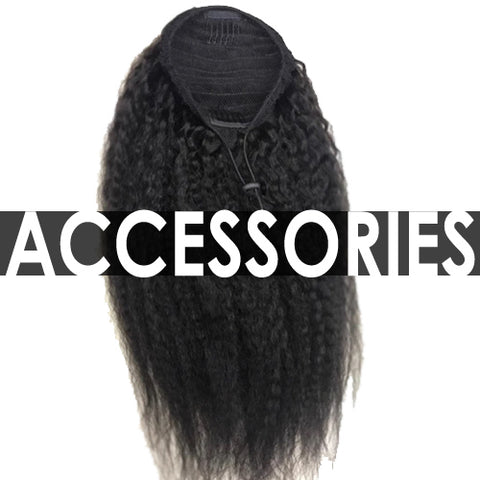 Drawstrings , Clip-Ins , Ponytails