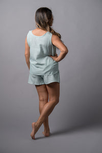 Remnant Pajamas in Seaglass