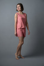 Remnant Pajamas in Coral Pink