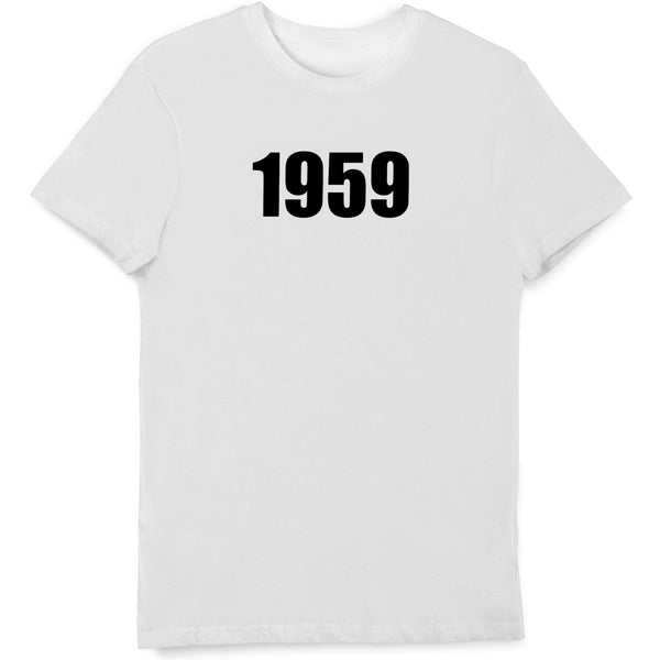 1959 Birth Year T Shirt